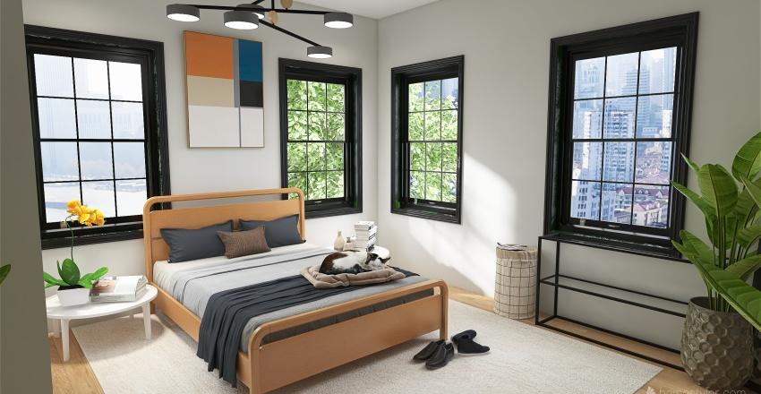 apartment vibes Interior Design Render