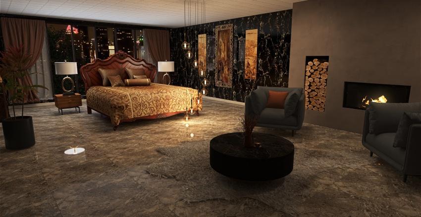 PORTAKAL KOKULU  Interior Design Render