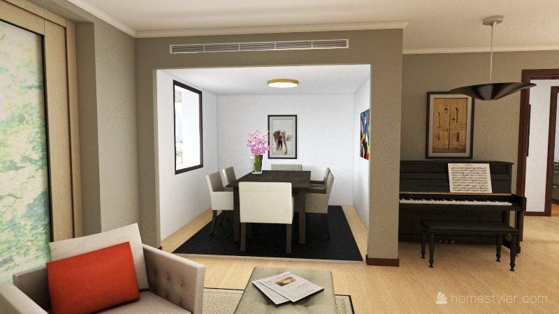 Lighting plan Interior Design Render