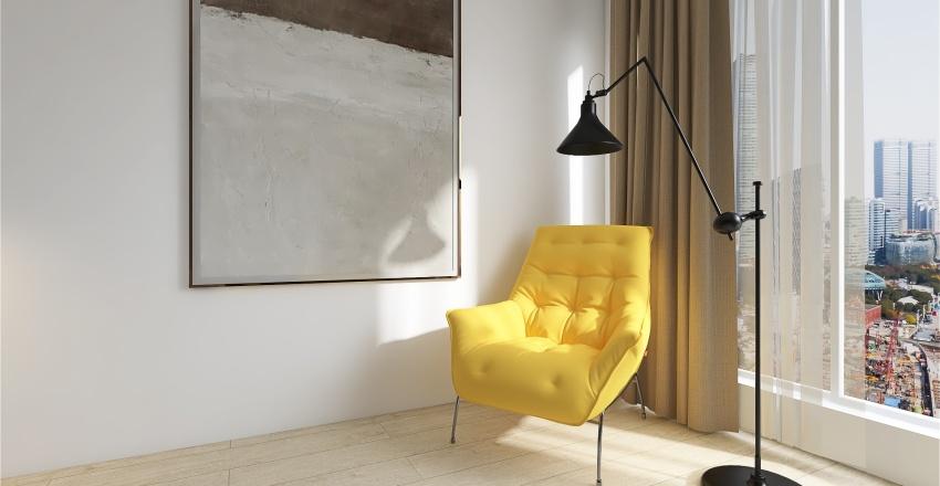 Контемпорари Interior Design Render
