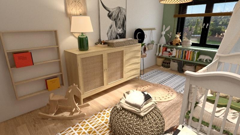Quarto Baby S@ Interior Design Render