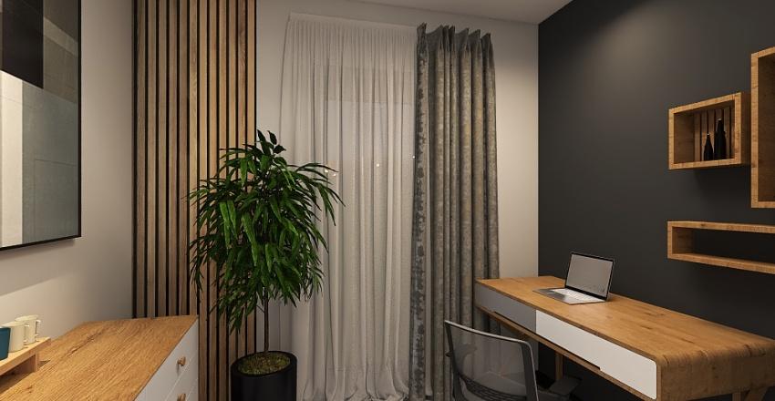 KASKADA M PIĘTRO Interior Design Render