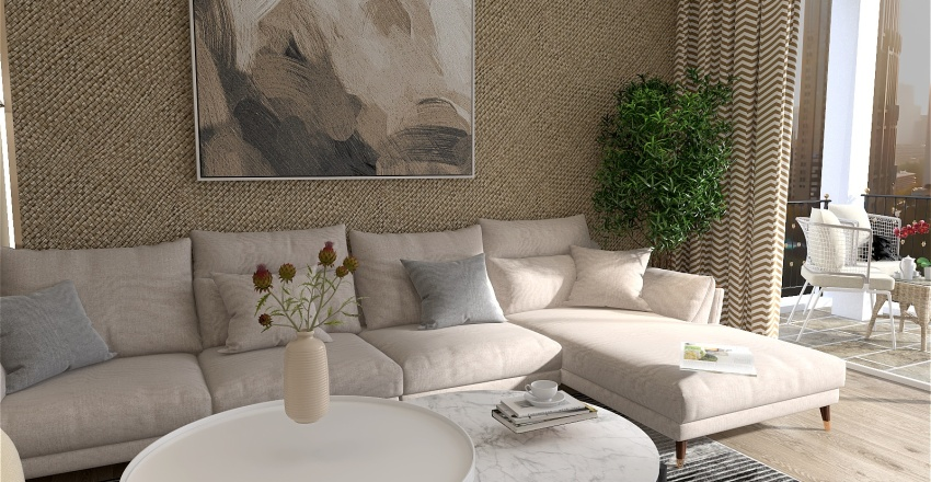 FADHILI Interior Design Render