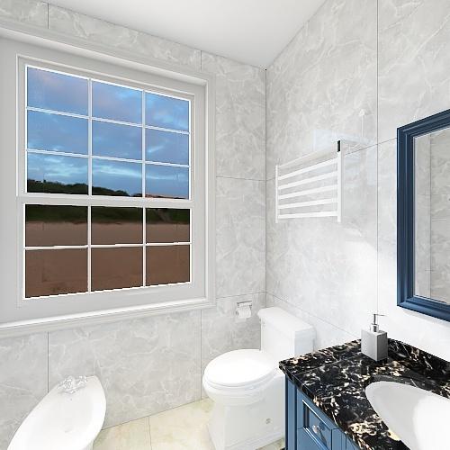 casa vacanze Interior Design Render