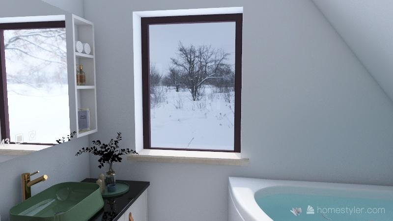 Stwosza 3_4 wariant z toaleta Interior Design Render