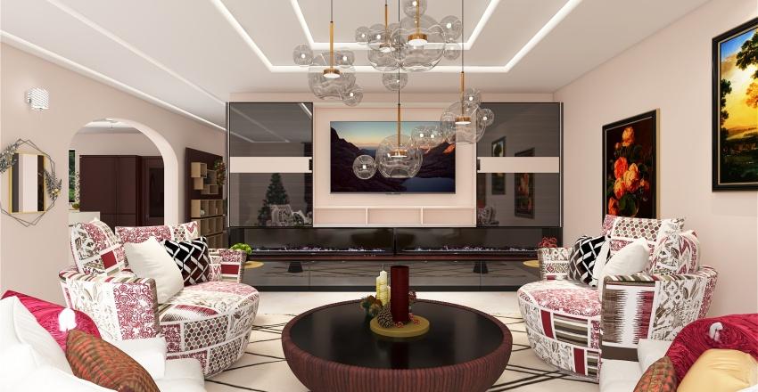 Christmas In July Interior Design Render