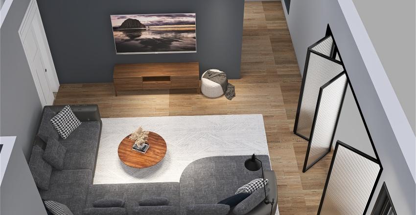 Hallway Bettey Property Rec Room Interior Design Render