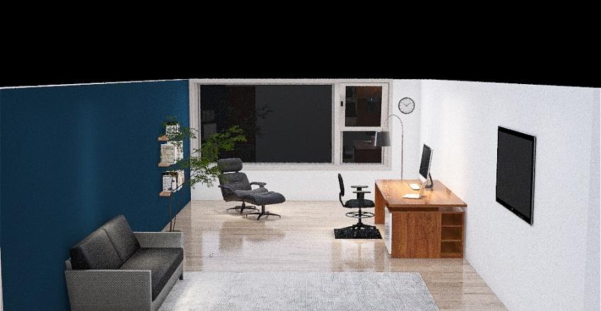 Andres Office Interior Design Render