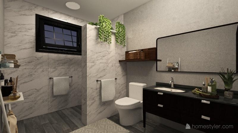 2nd floor office studio Interior Design Render