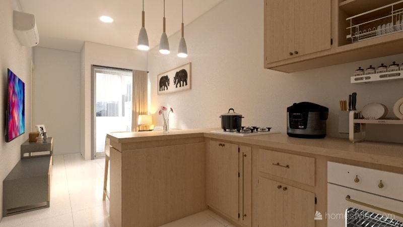 apartement 1 Interior Design Render