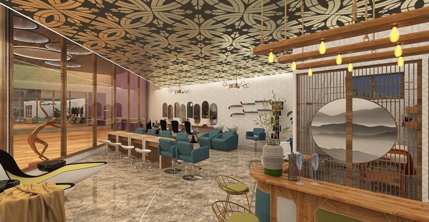Light Spa by Element5 Interior Design Render
