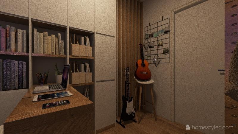 ws 1 minimalist Interior Design Render