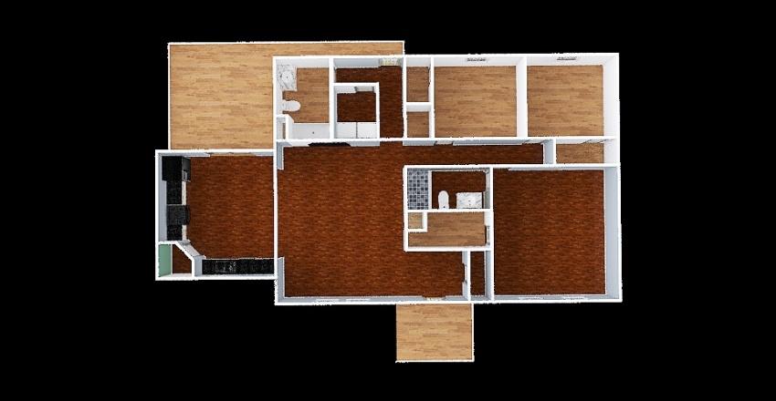 Kendall Road House (1500 sqft) Interior Design Render