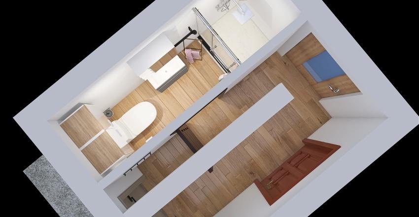 small bath Interior Design Render