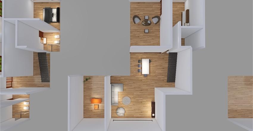 Modelo 2 Interior Design Render