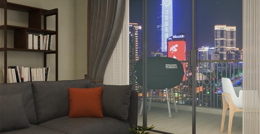 Beautiful Apartment Interior Design Render