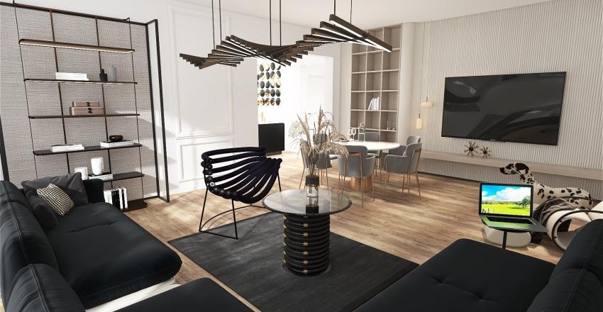 APARTAMENT DARII Interior Design Render