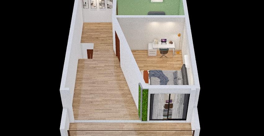cluster house Interior Design Render