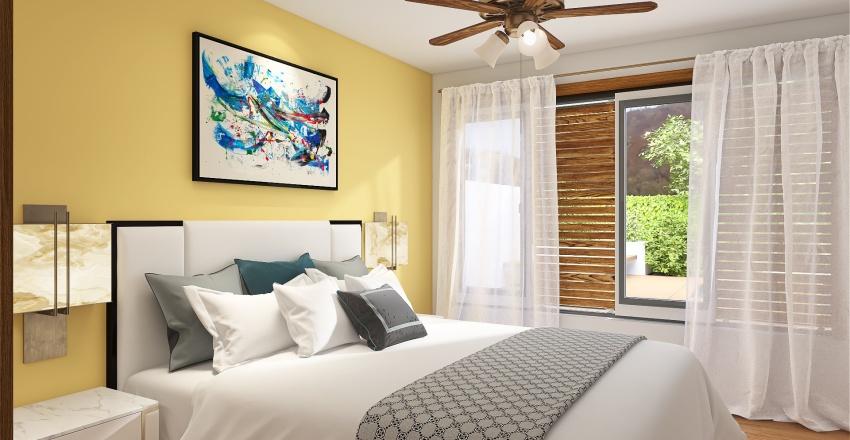 Suburban house Interior Design Render