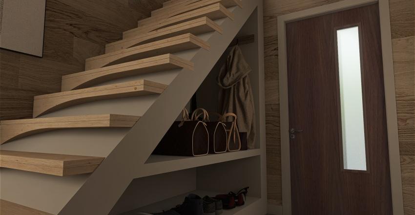 Adirondack Summer Cabin Interior Design Render