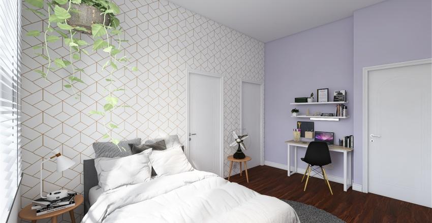 Quarto Leonor Interior Design Render