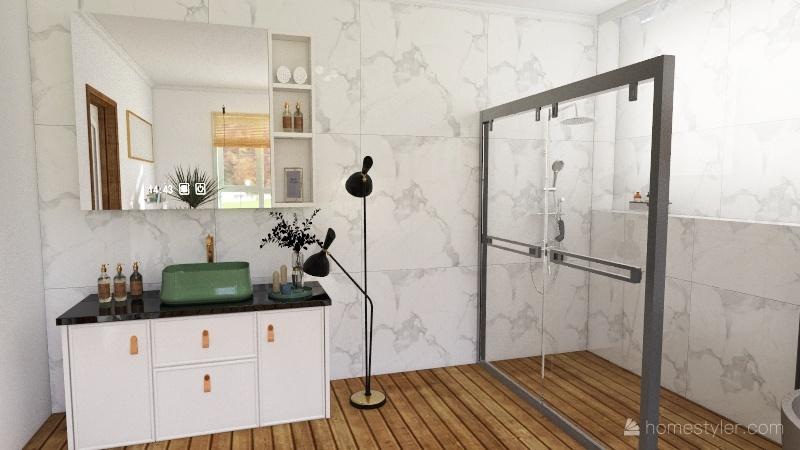 single house Interior Design Render