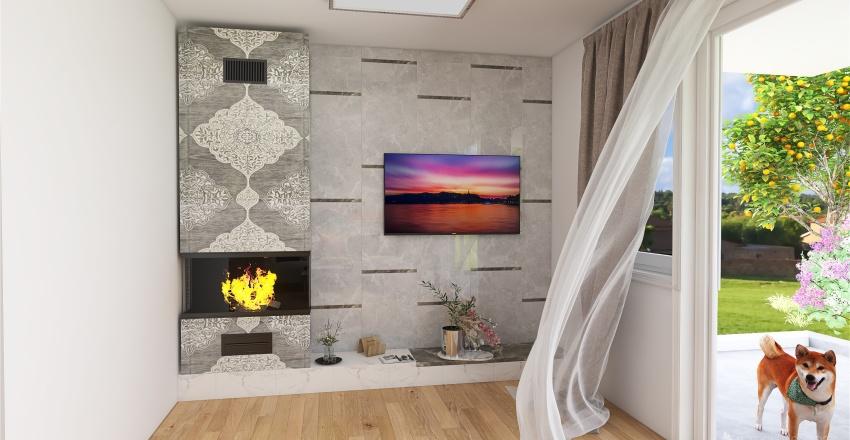 Mohelnice přízemí Interior Design Render