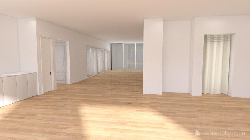 store 1F Interior Design Render