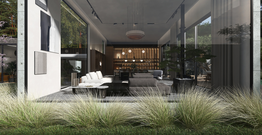 [ CALIFORNIAN VILLA ] Interior Design Render