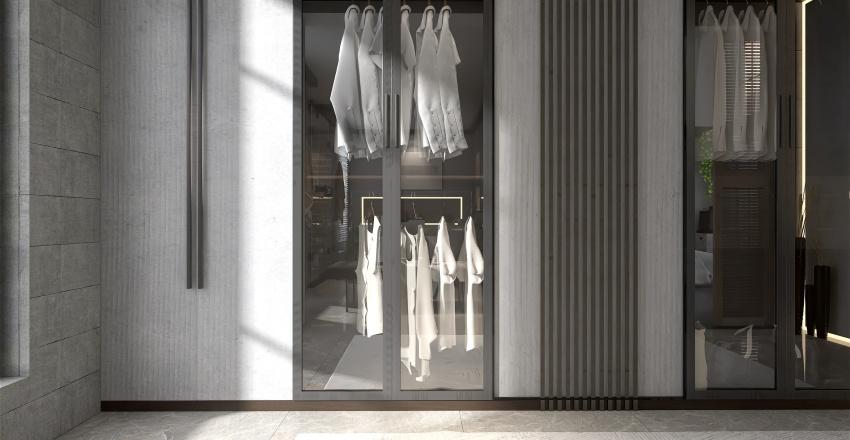 contemporary living Interior Design Render