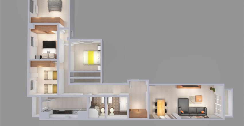 Proyecto Francisco_copy Interior Design Render
