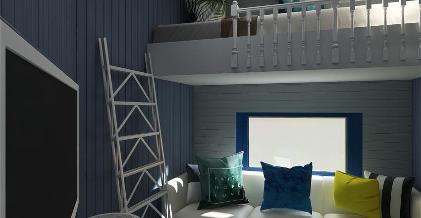 Copy of Проект дома из контейнера Interior Design Render
