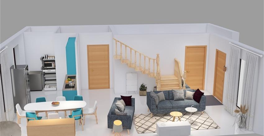 Projet AICHA V2 Interior Design Render