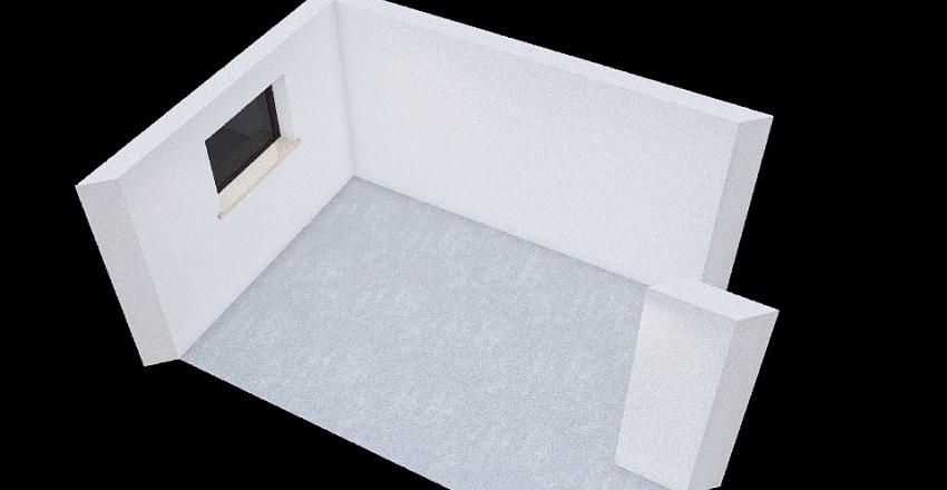 Emma's Room Interior Design Render