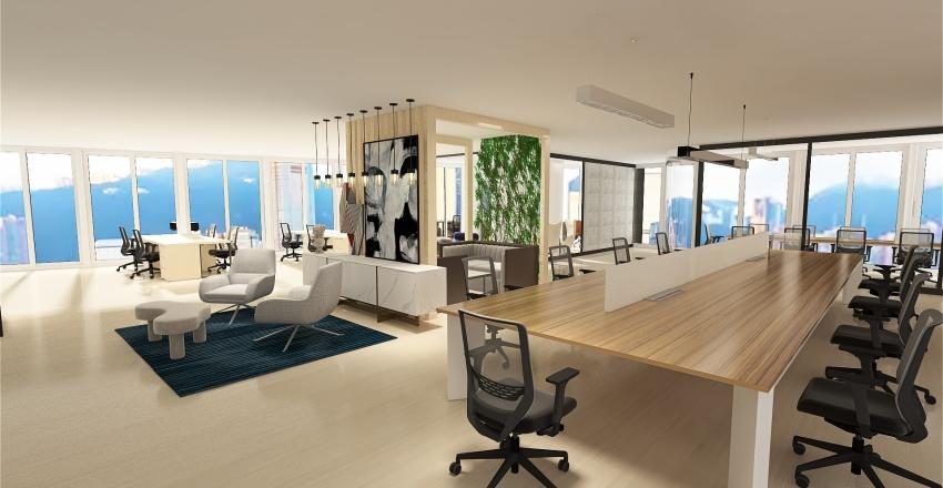 2nd IDEA of LFCC 27F Interior Design Render