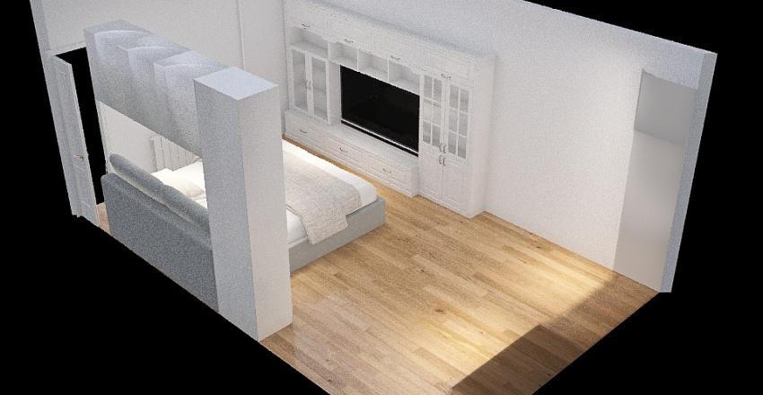 Copy of Спальня Interior Design Render
