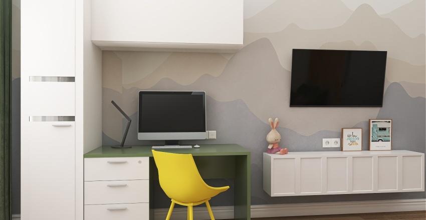 Елена 96м Interior Design Render