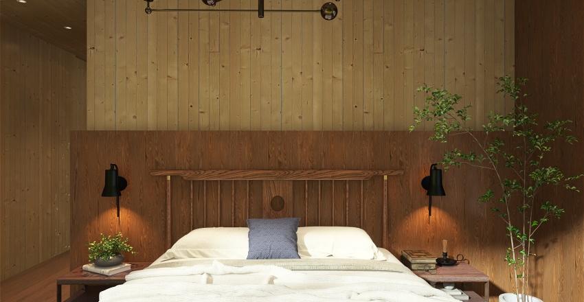 Writer's Retreat Interior Design Render