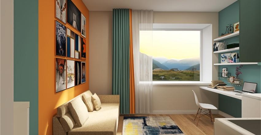СА 02.1 Interior Design Render