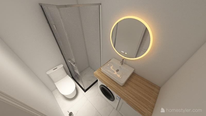 Projekt wnętrza mieszkania Interior Design Render