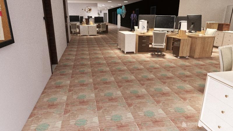 PDKS Unit Pentadbiran Interior Design Render