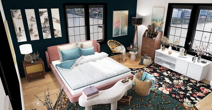 moms room Interior Design Render