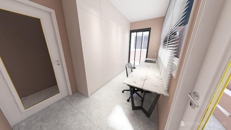 Terreno 10x25 Interior Design Render
