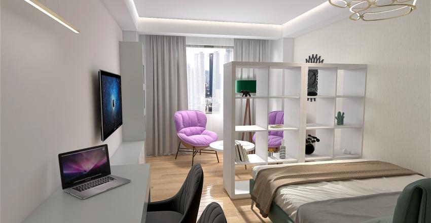 Студия 32 кв.м. Interior Design Render