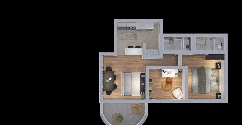 Projeto Apartamento Interior Design Render