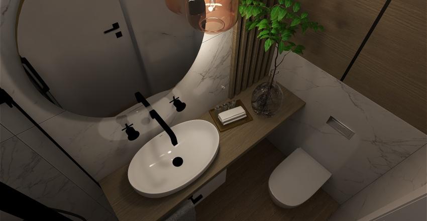 wc micro Interior Design Render