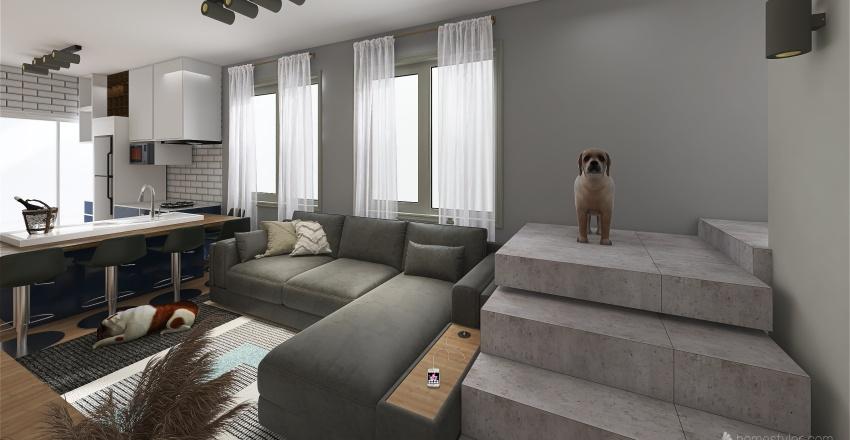 casa manu e dani oficial Interior Design Render
