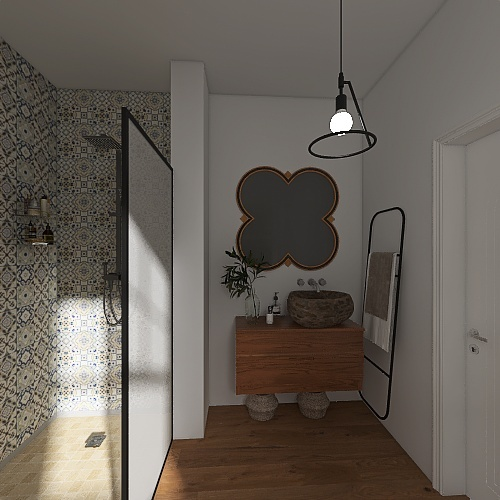 Baño MDR. Interior Design Render