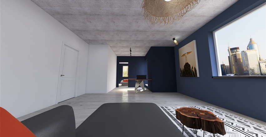 Project 876 Interior Design Render