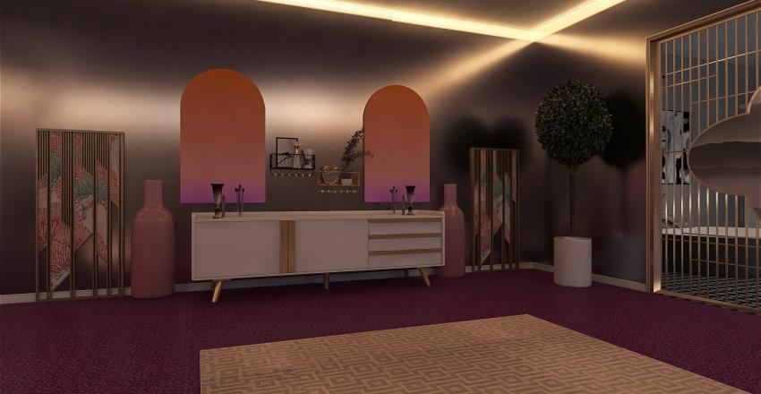 Işıklar ve Gece Interior Design Render
